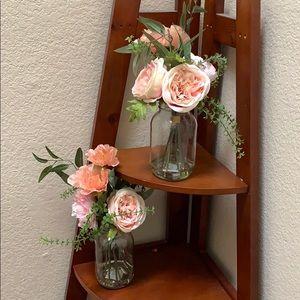 NEW.. Mason Jar Floral set